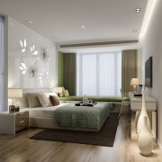 Minimalist-bedroom-plan-with-wood-flooring-3d
