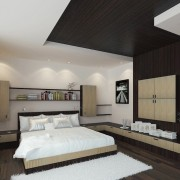 Wood-ceiling-wall-bedroom